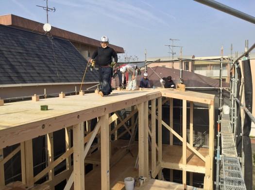 屋根構造面