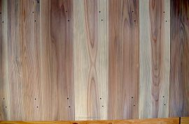 里山25-外壁杉板張り工事4