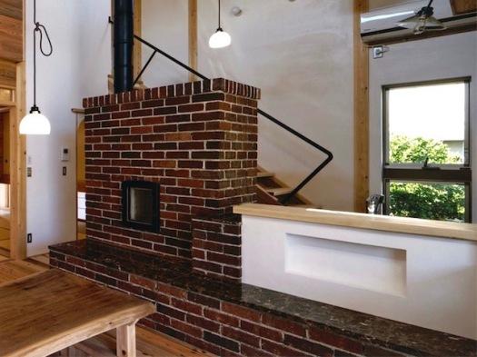 蓄熱暖炉(マックスウッド制作)