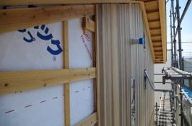里山25-外壁杉板張り工事3